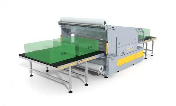 Shrink Wrap Machine IMBAL 900 US - Belt machine anteprima